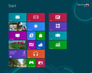 Windows 8开始界面