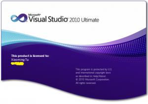 VS2010闪屏画面