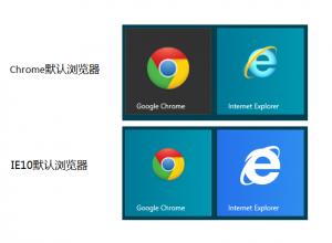 默认浏览器图标比较