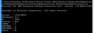 corflags.exe示例